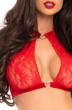 Load image into Gallery viewer, Red lingerie set - A Love Story