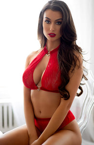 Red lingerie set - A Love Story