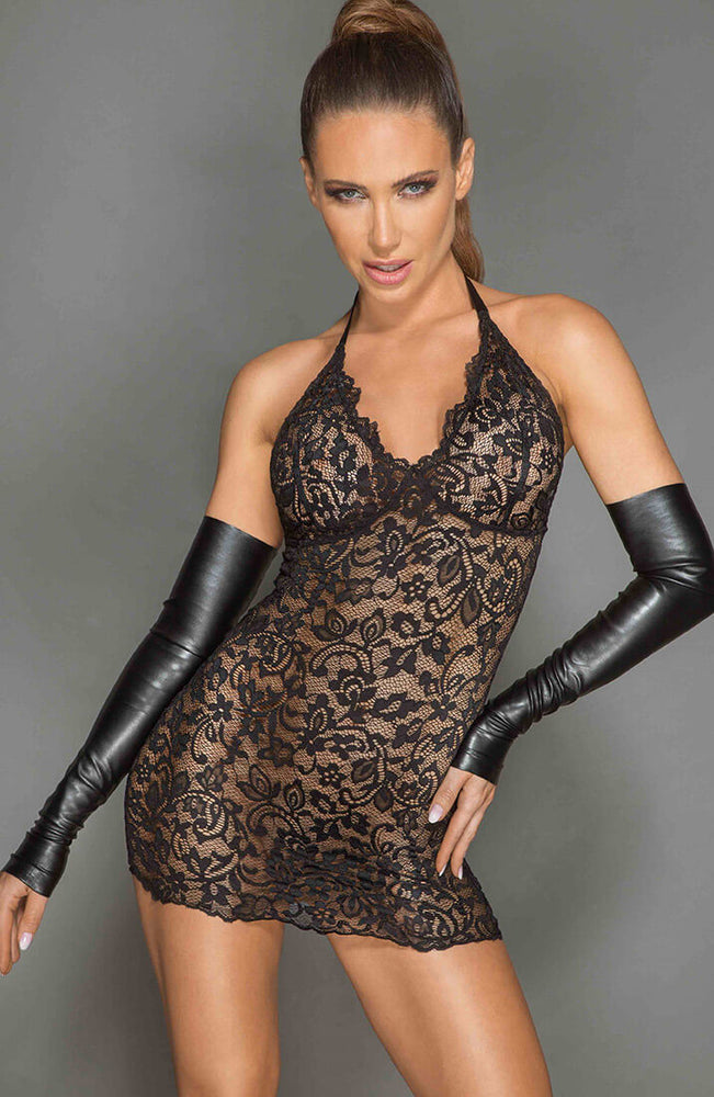 Black lace dress - Reckless