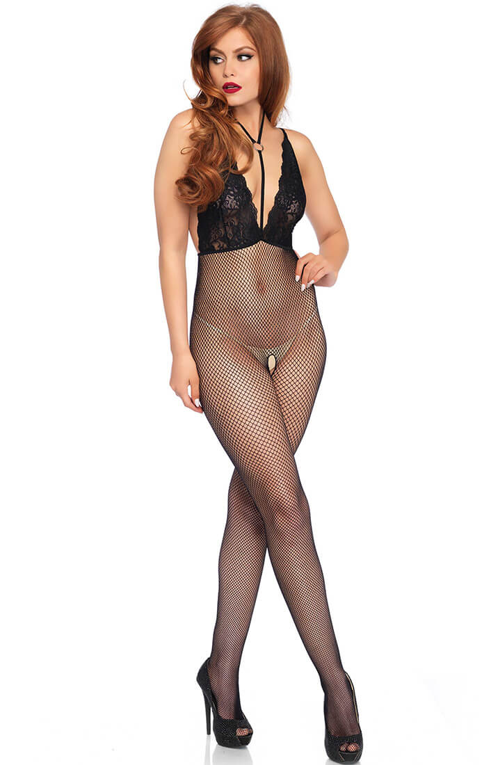 Bodystocking with choker - Just Hold Me