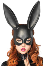 Load image into Gallery viewer, Black rabbit maske