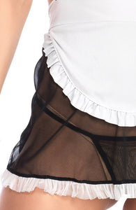 French maid costume lingerie - Maid My Day