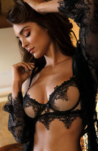 Load image into Gallery viewer, SEDUCE - See-through bustier bra