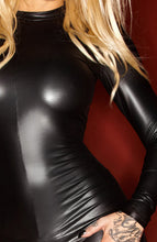 Load image into Gallery viewer, Wet look catsuit - LUSSO