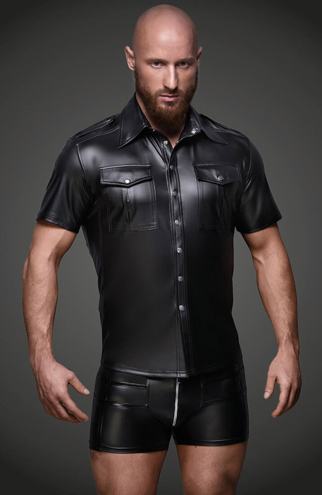 Wet look shirt - The Perfect Fit