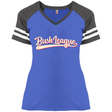 Load image into Gallery viewer, Bush League Classic Ladies' Game V-Neck T-Shirt