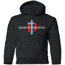 Load image into Gallery viewer, Full Logo Youth Pullover Hoodie