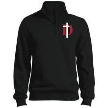 Load image into Gallery viewer, D Logo 1/4 Zip Sweatshirt