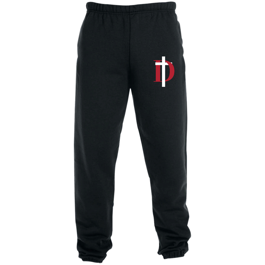 D Logo Sweatpants with Pockets