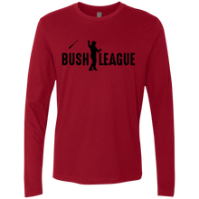 Load image into Gallery viewer, Bush League Bat Flip Men's Premium LS
