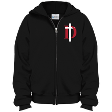 Load image into Gallery viewer, D Logo Youth Full Zip Hoodie
