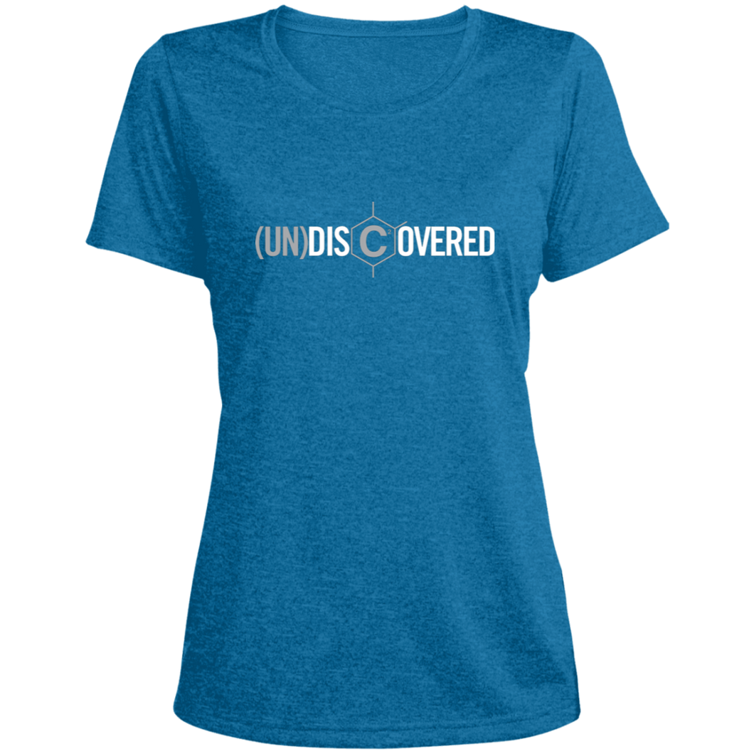 (un)disc2overed Ladies' Heather Dri-Fit Moisture-Wicking T-Shirt