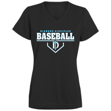 Load image into Gallery viewer, Plate Logo Ladies' Wicking T-Shirt