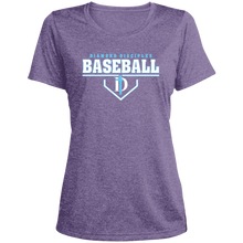 Load image into Gallery viewer, Plate Logo Ladies' Heather Dri-Fit Moisture-Wicking T-Shirt