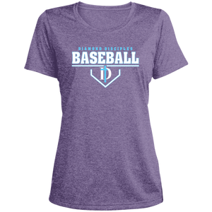 Plate Logo Ladies' Heather Dri-Fit Moisture-Wicking T-Shirt