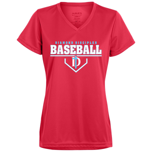 Plate Logo Ladies' Wicking T-Shirt