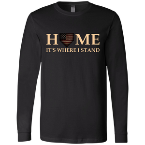 Home It's Where I Stand LS Tee