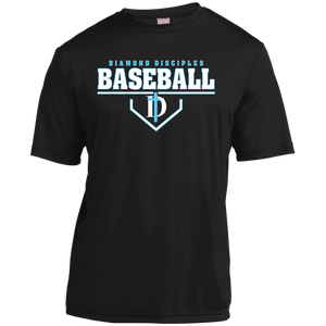 Plate Logo Youth Moisture-Wicking T-Shirt