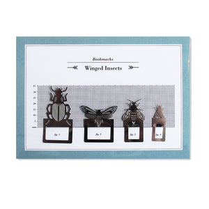 Insect Bookmarks Set of 4