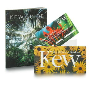 Adult Gift Ticket and Kew Guide Book