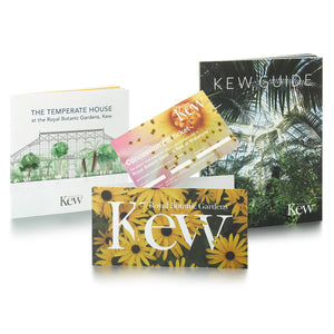 1 Concession Ticket and Kew Guide and Temperate House Guide