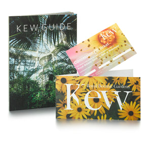1 Concession Ticket and Kew Guide
