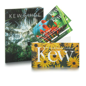 2 Adult Tickets and Kew Guide
