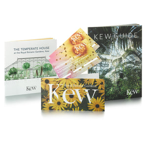 2 Concession Gift Tickets and Kew Guide and Temperate House Guide