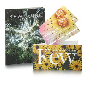 2 Concession Tickets and Kew Guide