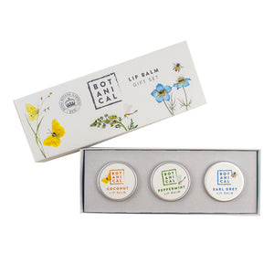 Kew Botanicals Lip Balm Gift Set