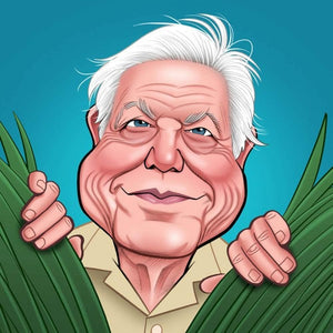 David Attenborough Birthday Card