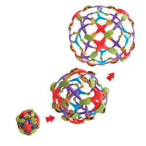 Expanding ball toy
