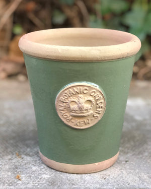 Small Kew Flower Pot in Calke Green