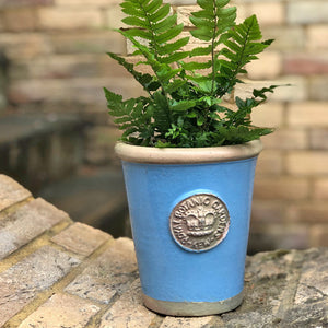 Small flower pot in Cook's Blue