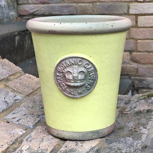 Small flower pot in Yellowcake