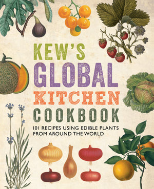 Kew's Global Kitchen Cookbook cover