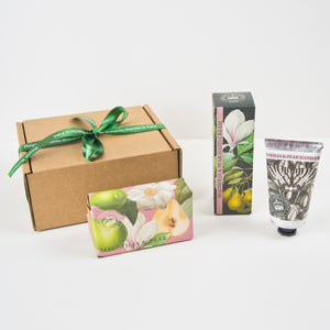 Magnolia and Pear Handcare Gift Set