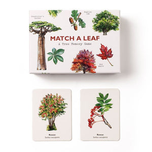 Match a leaf - Memory Card Game