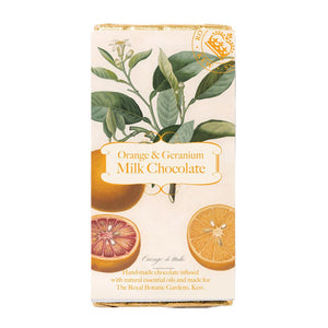 Orange and Geranium Milk Chocolate