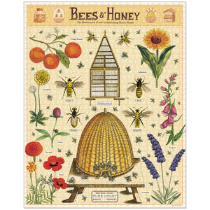 Bees and Honey Vintage Jigsaw