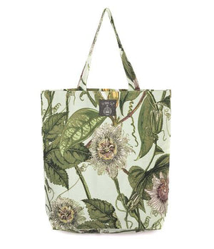 Extra Large Tote Bag - Passion Flower Design