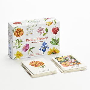 Pick A Flower - Memory Card Game