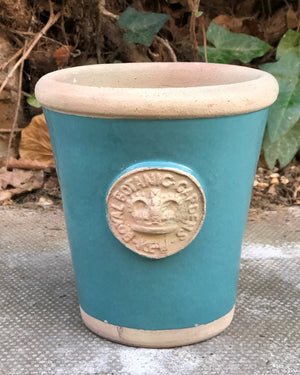 Small Kew Flower Pot in Vardo Teal