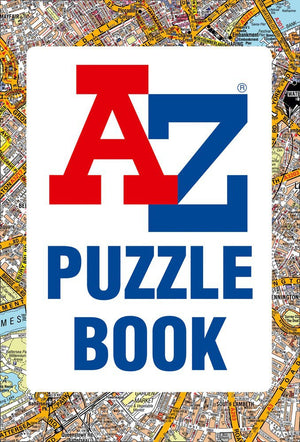 A to Z Puzzle Book Cover