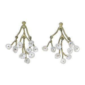 Michael Michaud baby breath earrings