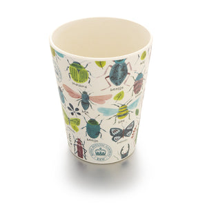 Children's Bamboo Cup with Bugs Print