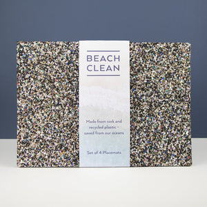 Beach Clean Cork Placemats
