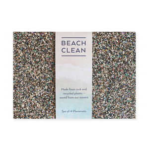 Beach Clean Set of 4 Placemats