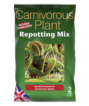 Repotting mix for carnivorous plants. 2l bag.