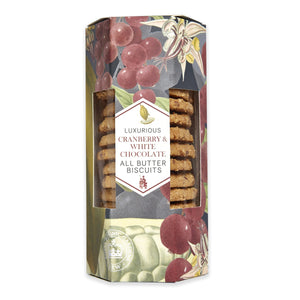 Kew Cranberry & White Chocolate Biscuits